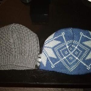2 NWOT Wool Dog Hats/Caps